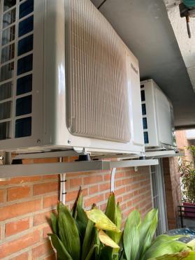 Instalar aire acondicionado exterior