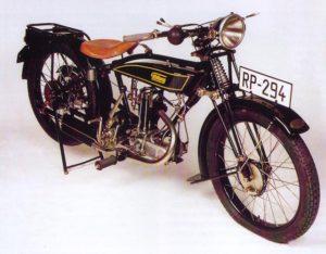 Motocicleta Flottweg (Años 20)