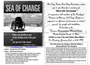 Sea of Change @ VA Medical Center, Multi-Purpose Room | San Diego | California | United States