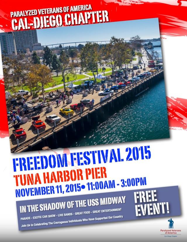 Freedom Festival 2015 Flyer