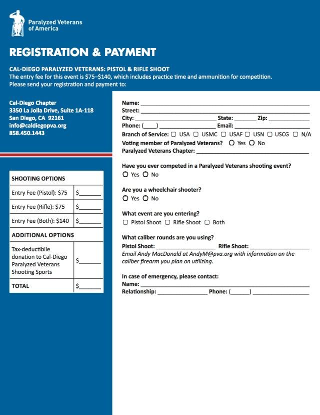 Pistol-Rifle Registration