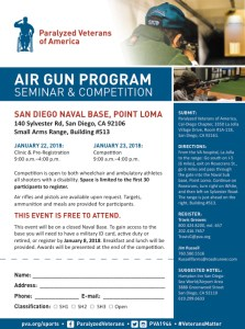 PVA Air Gun Seminar & Competition @ San Diego Naval Base, Point Loma | San Diego | California | United States