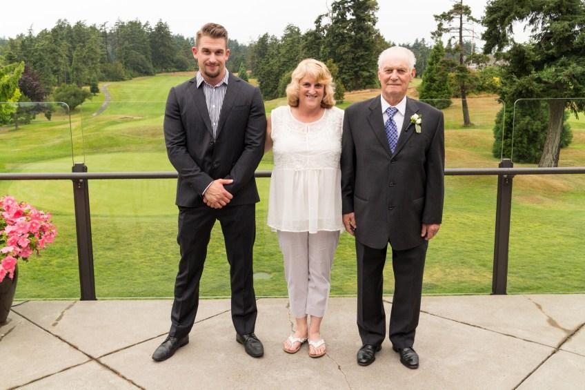 Cale at James & Angela's wedding