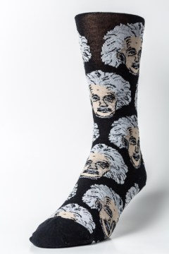 Albert Einstein Socks