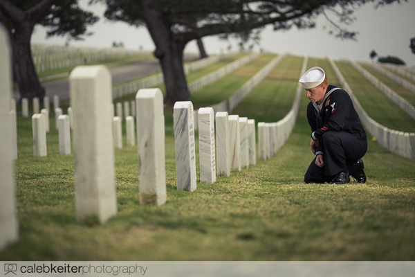 Fort Rosecrans National Cemetery portrait photoshoot