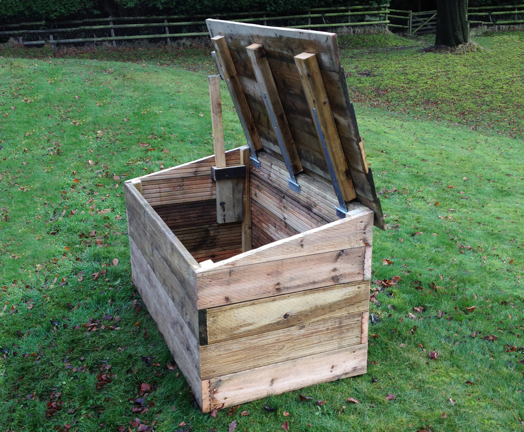 Outdoor Toy Box Wooden Storage Solutions For Schools And