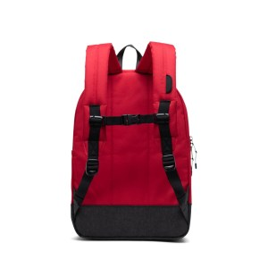 """Herschel zaino in tessuto """"Heritage Youth"""" Rosso HERITAGE YOUTH.099 red/black"""