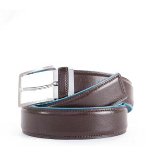 """Piquadro cintura in pelle """"B2 – Blue Square"""" Marrone CU4207B2.MO"""