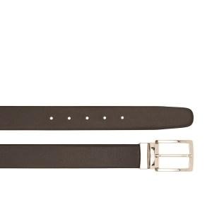 "The Bridge cintura reversibile in pelle ""Story"" Nero/marrone 0338101R.94"