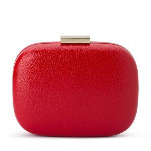 "Olga Berg borsa da cerimonia in pelle ""Malia"" Rosso OB7447.RED"