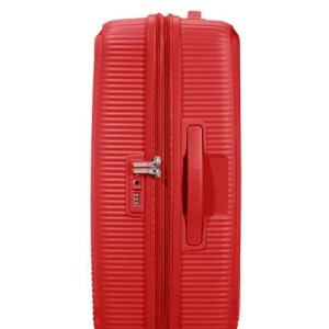 """American Tourister trolley medio in polipropilene """"Soundbox"""" Rosso 88473.10 Coral red"""