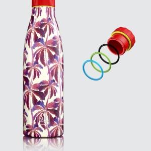 "Bboom bottiglia termica in acciaio ""Thermal"" Fantasia BB.12 palme"
