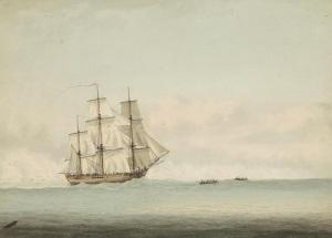 Началось первое кругосветное путешествие капитана Джеймса Кука