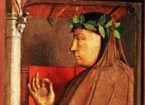 На Капитолийском холме в Риме был увенчан лавровым венком Франческо Петрарка