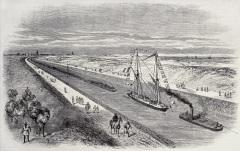 Суэцкий канал был открыт для судоходства