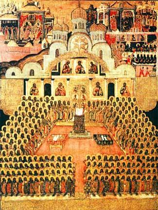 sfintii parinti de la Sinodul 7 ecumenic