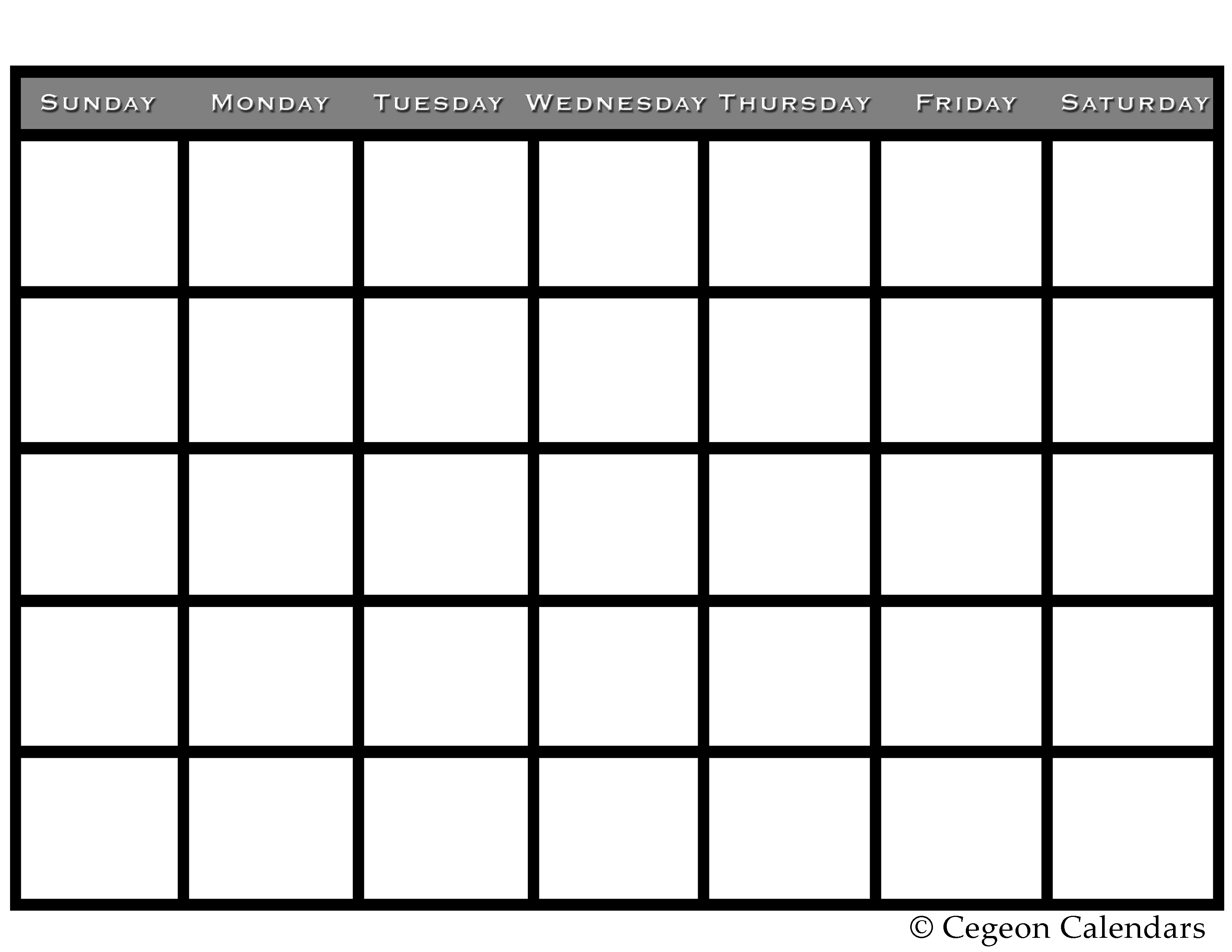 picture regarding Printable Fill Ins known as printable fill within calendar -