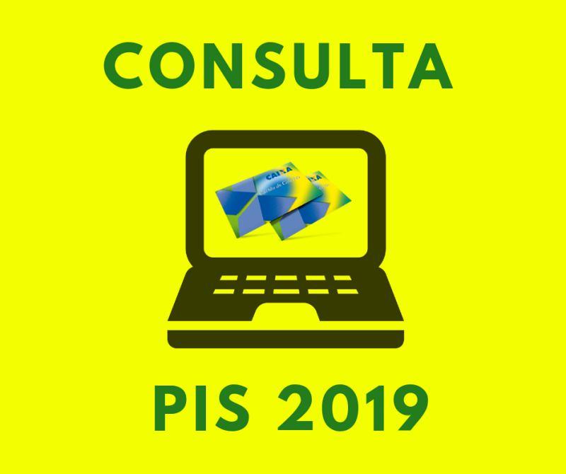 consultar PIS 2019