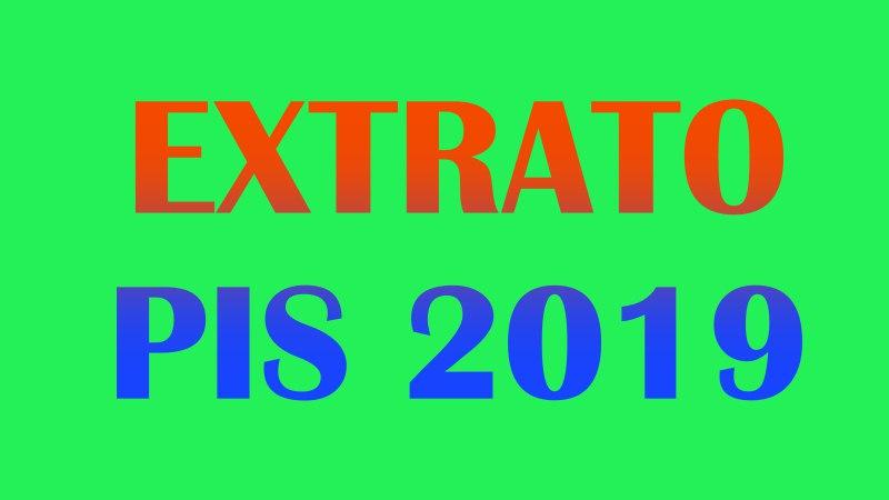 extrato PIS 2019