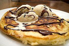 Pancakes on Pancake Day. Photo credit: flickr.com/photos/chrisbarber