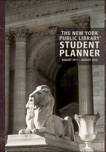 The New York Public Library Academic Planner 2017