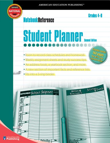 High School and Middle School planners 2017