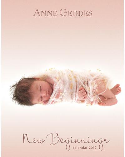 Anne Geddes baby calendar planner 2017