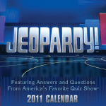 jeopardy trivia quiz desk calendar-2011
