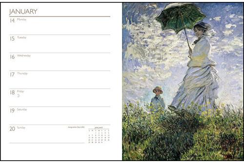 Claude Monet 2017 Planners, Date Books etc.