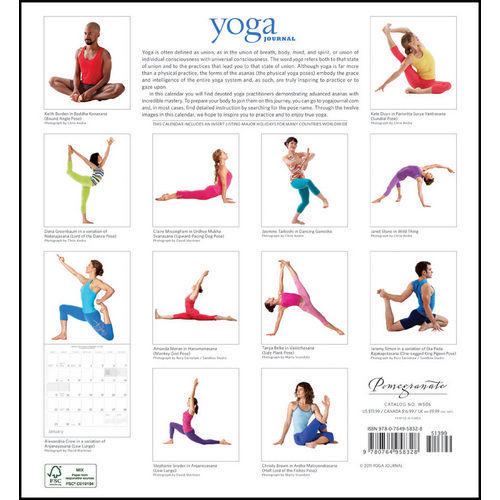 Yoga Planners and Calendars 2019