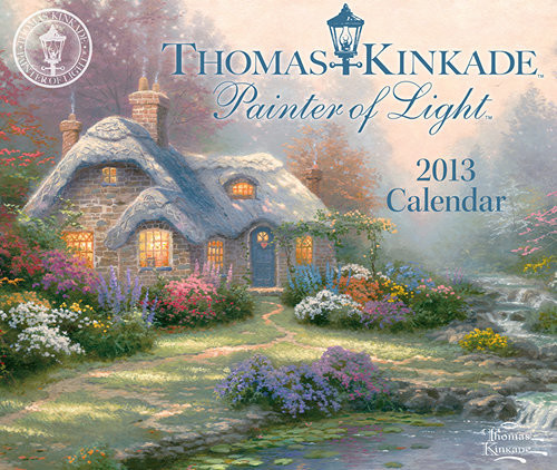 Thomas Kinkade Desk Calendars 2013