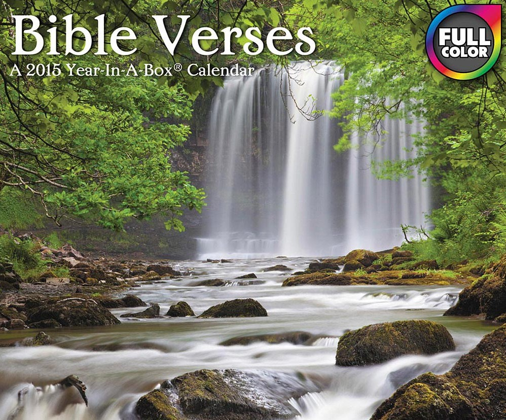 2017, 2018 Bible Verses and Quotes Desk Calendars