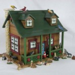 woodlands cabin advent calendar
