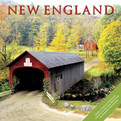 New England Wall Calendar - bridges of Madison County