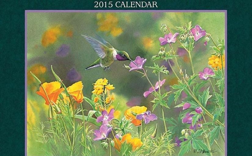 Hummingbird Calendars and Planners 2017