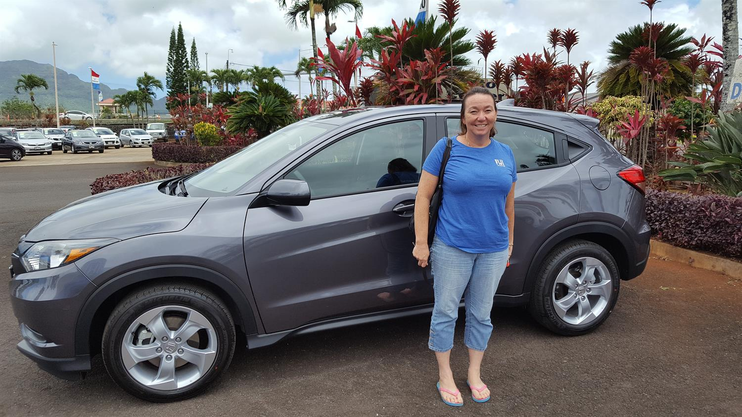 TERRY's new 2016 Honda Hrv! Congratulations and best