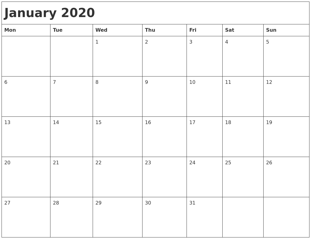 Image Result For Calendar Printable By Month