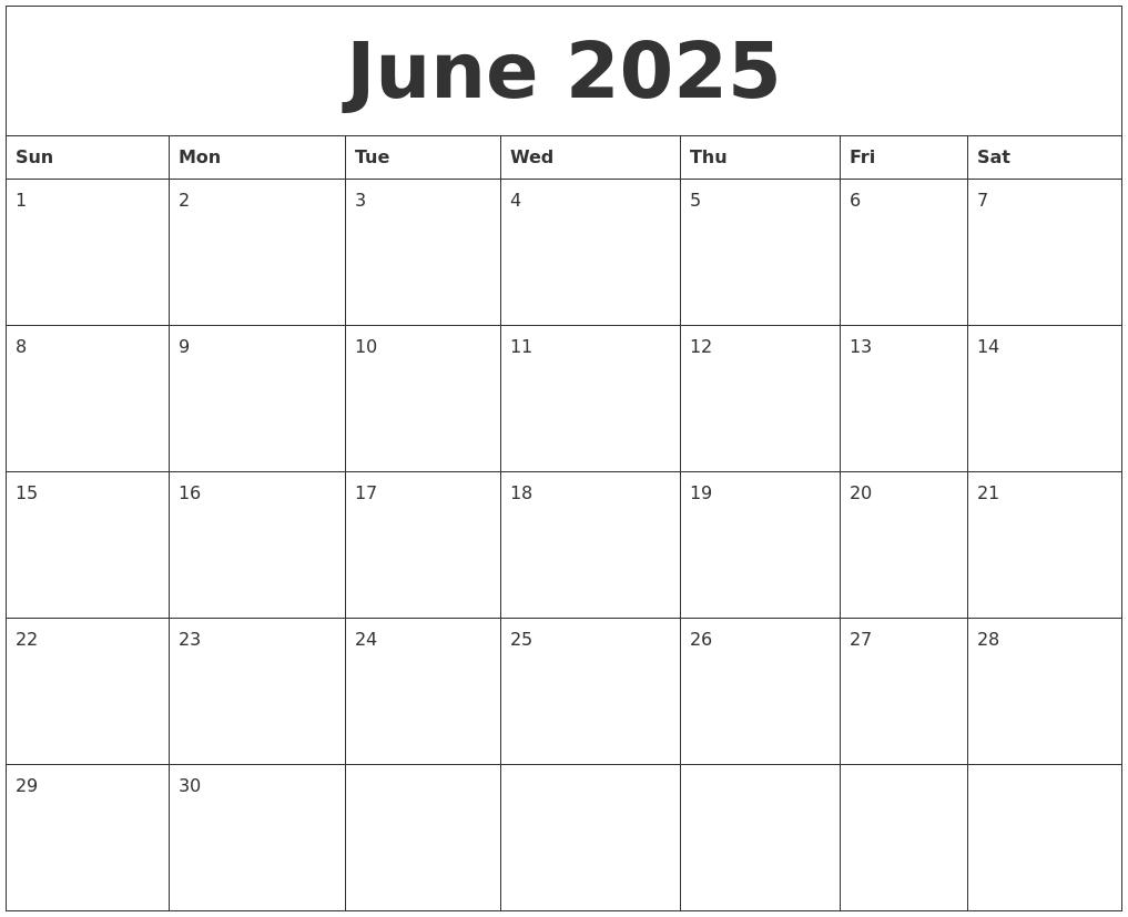 Free Printable Calendars