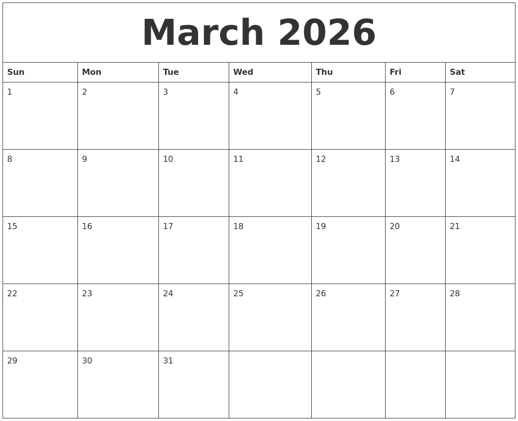 Image Result For Free Calendar Template