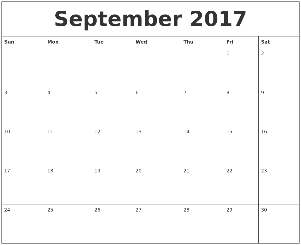 Image Result For Month To Month Calendar Printable