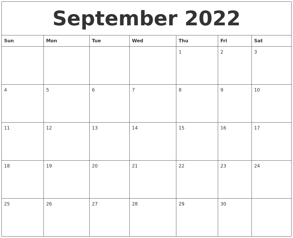 Image Result For Free Printable Calendar Templates