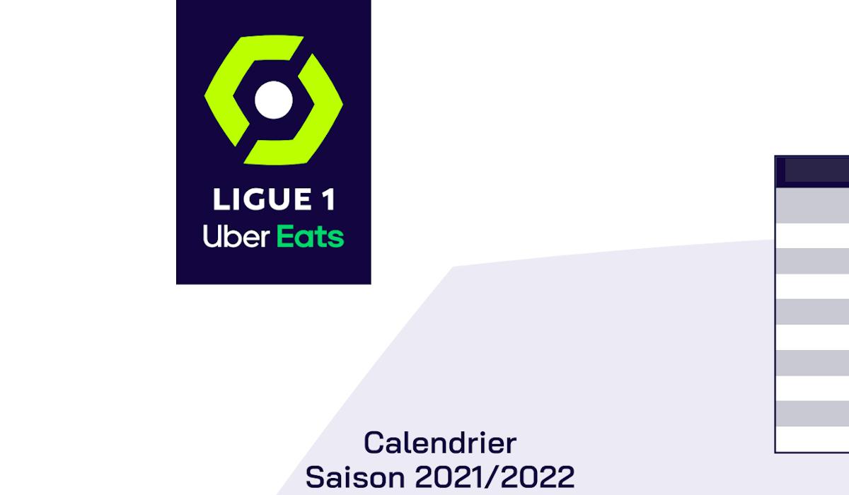 Calendrier Ligue 1 Football