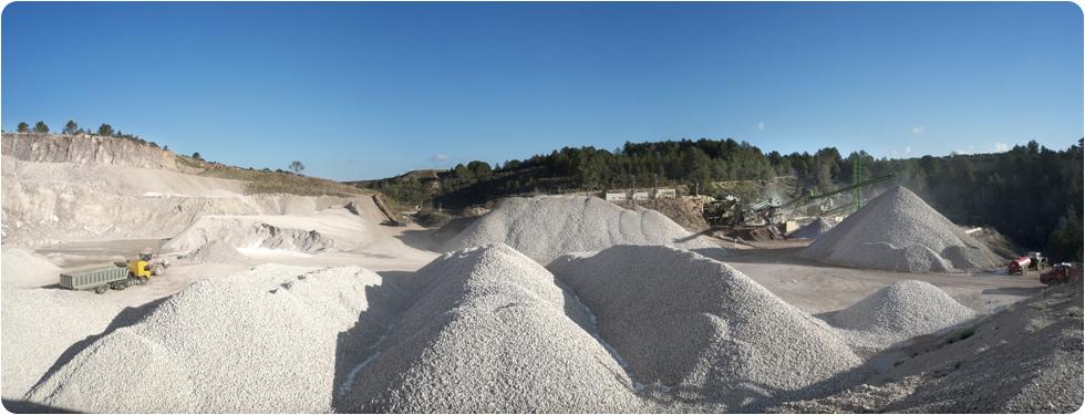 Agrégats calcaires