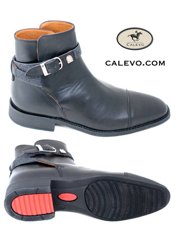 A Pair of Black Calevo Jodhpur Boots