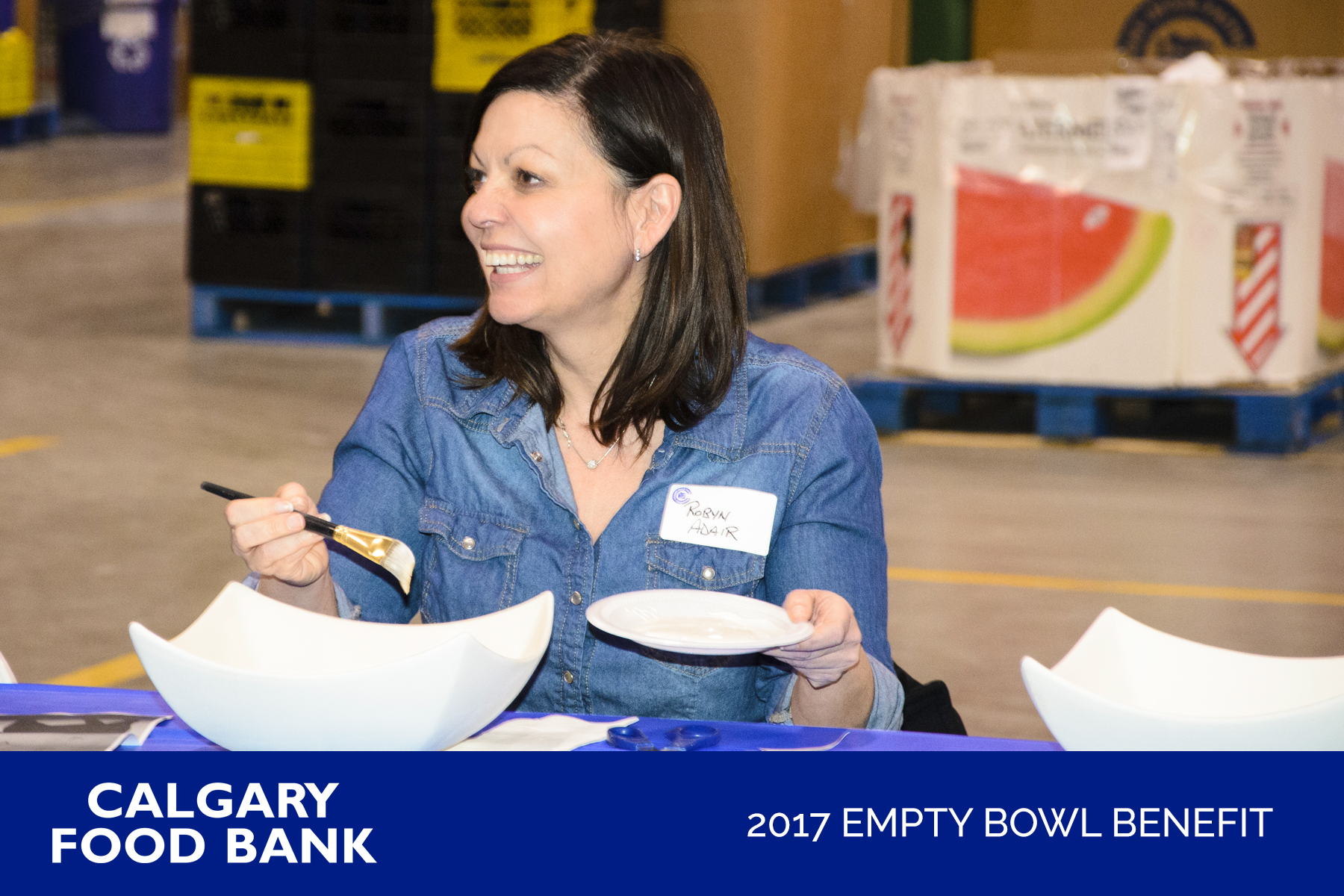 2017 Empty Bowl Benefit Paint Day