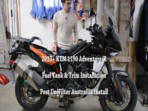 KTM 1190 Adventure Trim Installation