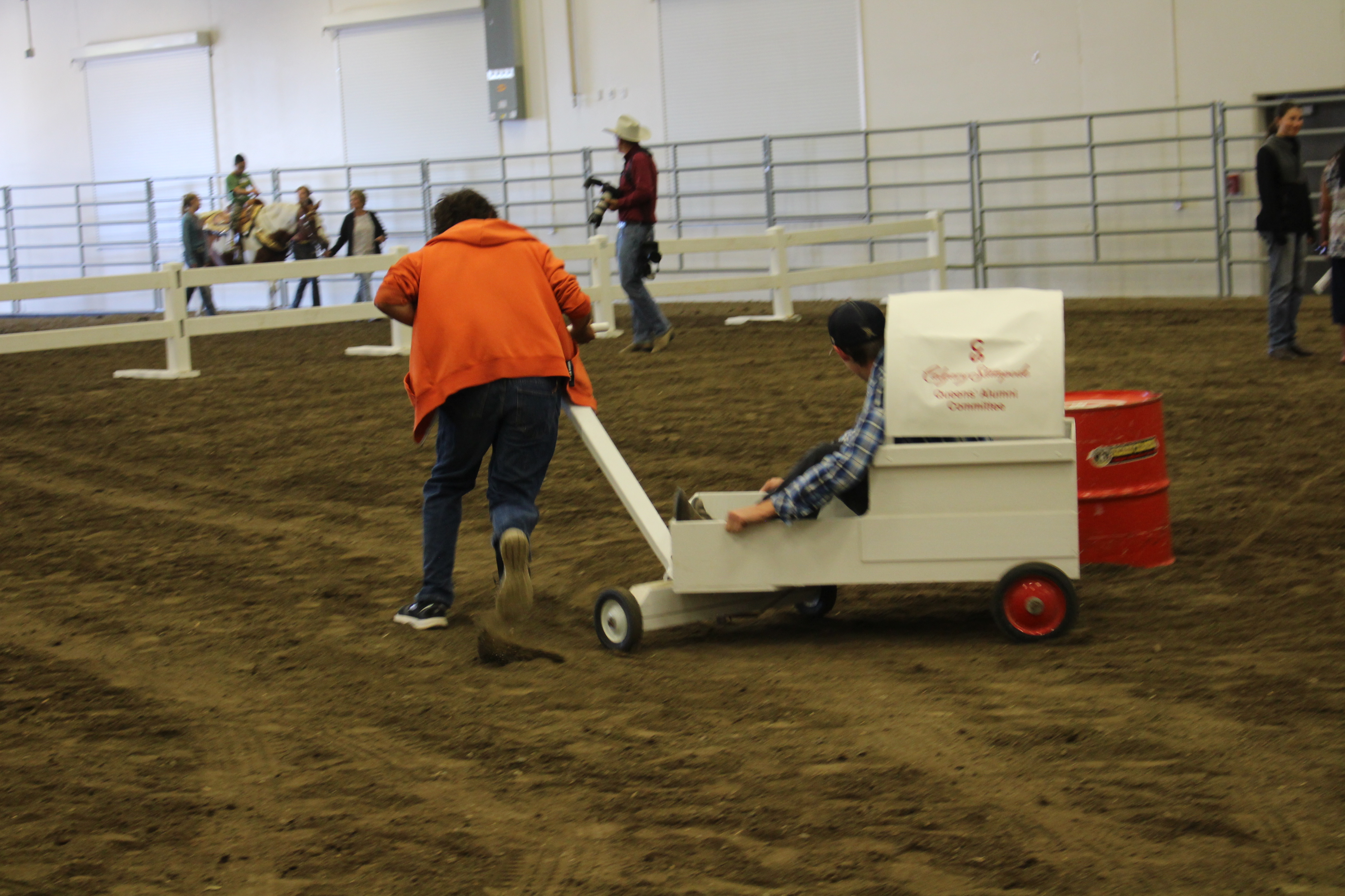 Stampede Committees Work Together To Host Event That