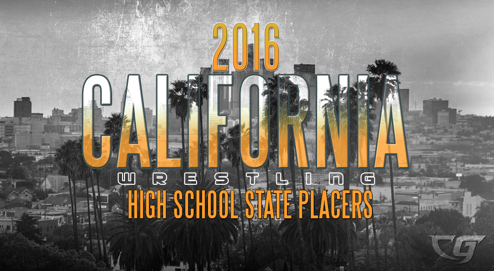 CIF State California High School Wrestling 2016