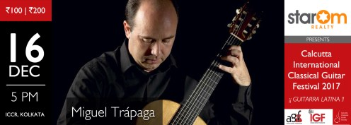 Book tickets for the Miguel Trapaga concert