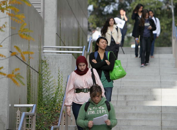 UC Berkeley, pictured here, and other campuses in the statewide system, start sexual assault prevention programs. (Photo by Justin Sullivan/Getty Images)